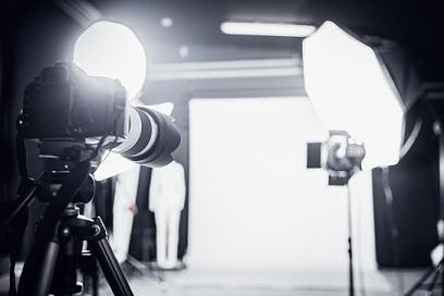 Camera and studio